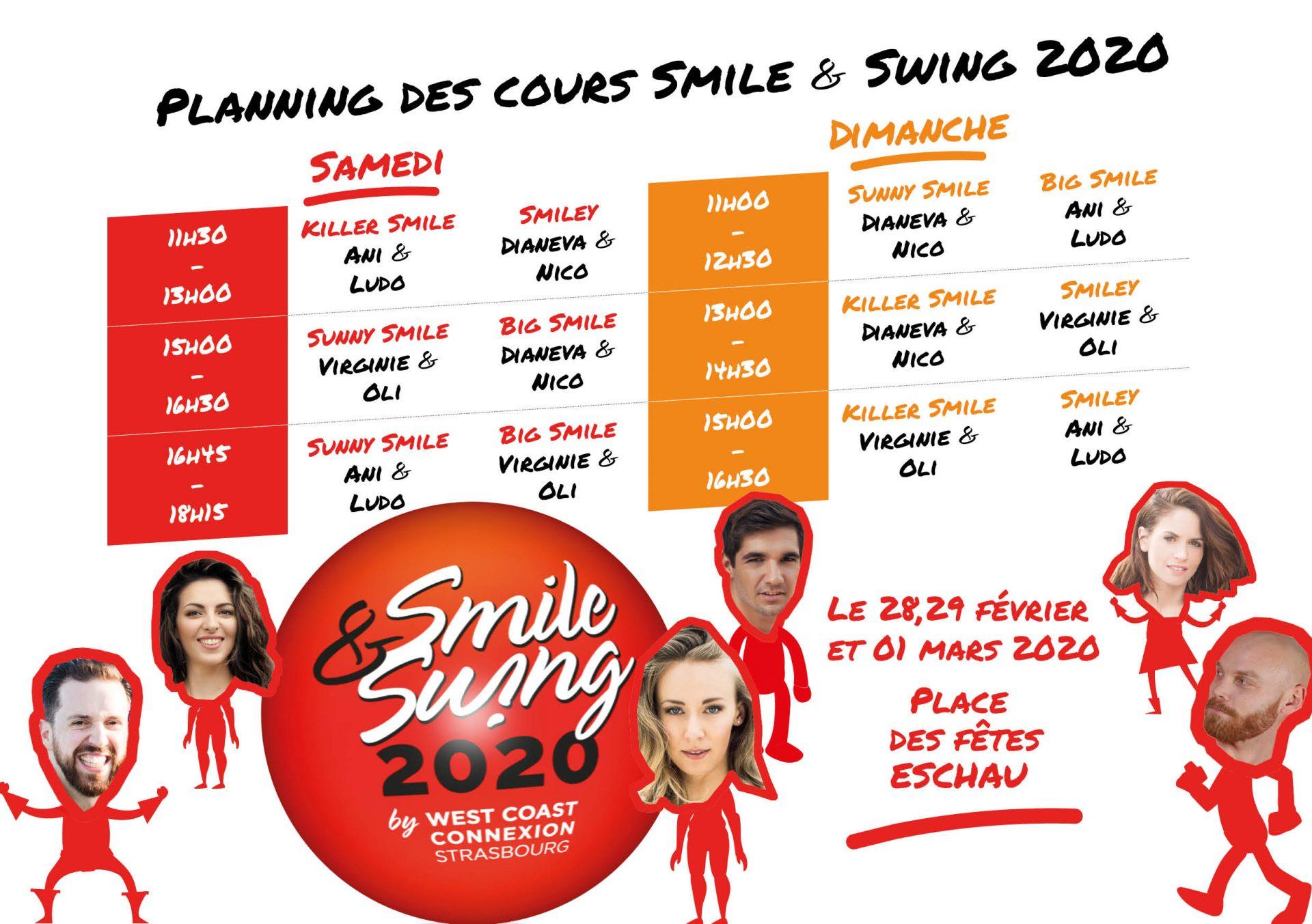 Planning Smile & Swing 2020